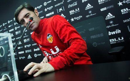 """Marcelino: """"La competitividad que aporta Ferran al equipo es una bendición"""""""