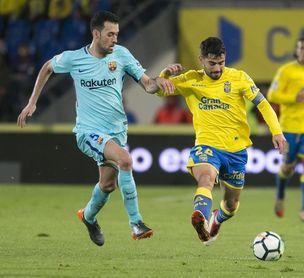 La UD Las Palmas caza al Levante pero completa una vuelta en zona de descenso