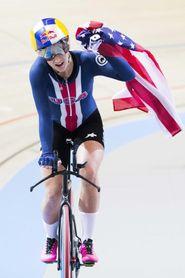 La estadounidense Dygert bate dos veces el récord del mundo de persecución