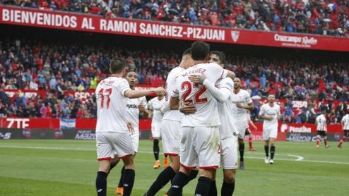 El ´Mudo´ ha recuperado el nivel que le llevó a fichar por el Sevilla.