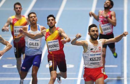 Saúl Ordóñez vuelve a ser bronce en 800 tras la recalificación de Windle