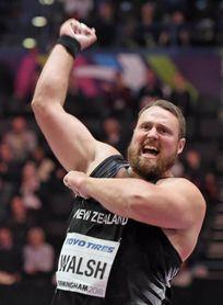 Walsh revalida el oro en peso con récord del torneo: 22,31