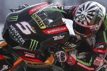Zarco cierra la pretemporada como líder, seguido de Rossi y Dovizioso