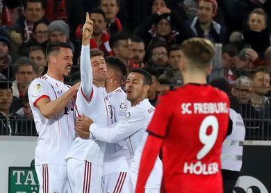 El Bayern golea al Friburgo a domicilio (0-4) y aumenta la ventaja