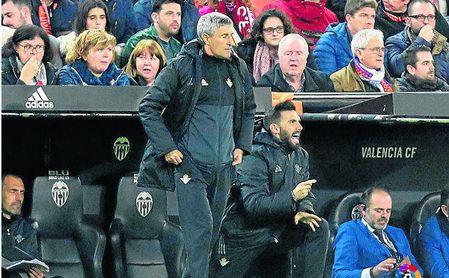 """Quique Setién: """"Nos quitaron un gol determinante"""""""