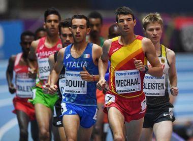 Mechaal cierra la actuación española en Birmingham con un quinto puesto en 3.000