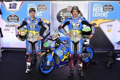 Morbidelli y Luthi, dos debutantes en MotoGP