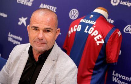 """Paco López: """"Quiero un equipo atrevido, valiente y convencido"""""""