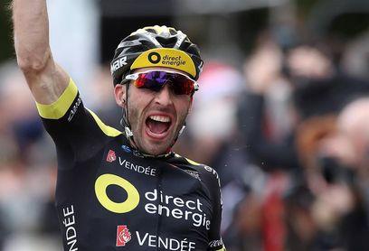 Luis León Sánchez sale de amarillo en la tercera etapa, que gana Hivert