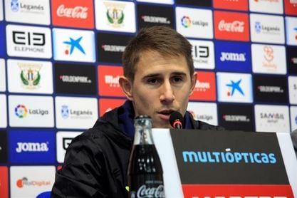 Szymanowski y Guerrero, ausentes en la vuelta al trabajo del Leganés