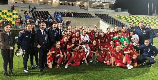 0-2. España impone su mayor pegada para alzarse con la Copa Chipre