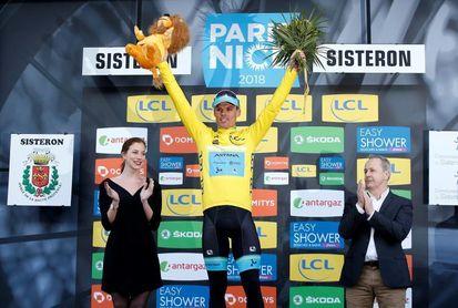 Cousin se anota la quinta etapa y Luis León aguanta de amarillo