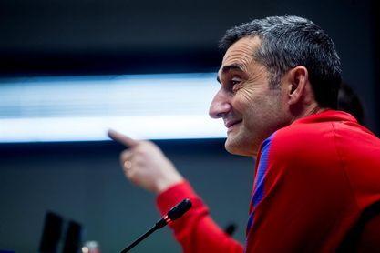 Valverde descarta al colombiano Yerry Mina para La Rosaleda