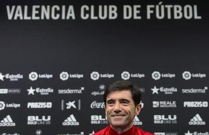 Marcelino asegura que su enfrentamiento con el Sánchez Pizjuán está olvidado