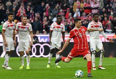 El Bayern hunde más al Hamburgo con un 6-0