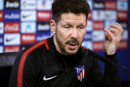 """Simeone: """"Oblak está disponible y mañana jugará"""""""
