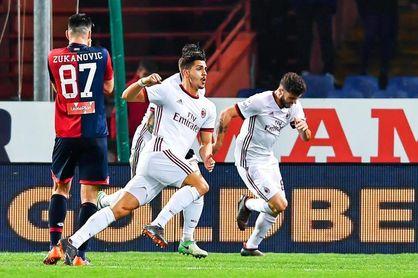 André Silva da el triunfo al Milan en Génova en el minuto 94