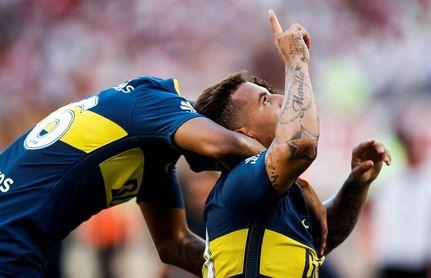 Boca y River logran agónicos triunfos en la antesala de la Supercopa