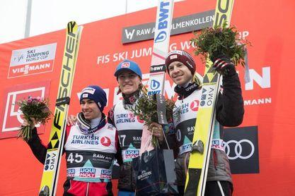 Daniel Andre Tande completa el doblete noruego en Oslo