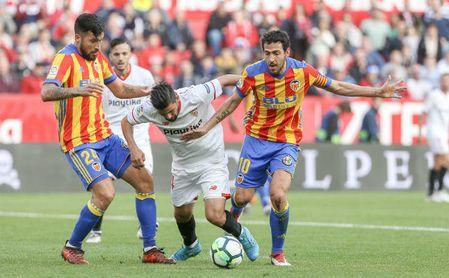 El Sevilla no da la talla contra los equipos de arriba