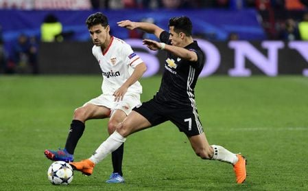 Horario y televisión del United-Sevilla y el resto de eliminatorias de Champions League