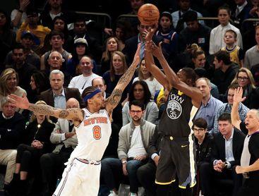 117-106. Durant y los Warriors siguen dominando a los Lakers