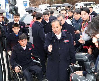 La delegación paralímpica norcoreana abandona PyeongChang para volver a casa