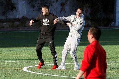 Koke le gana el duelo de entrenadores a Lucas Vázquez
