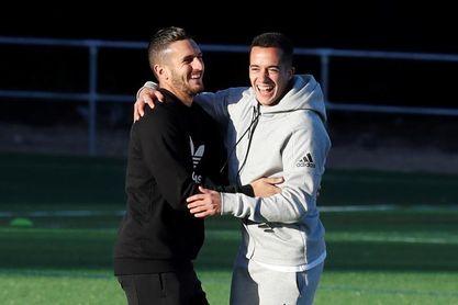 """Lucas Vázquez: """"La Juventus no nos pondrá las cosas nada fáciles"""""""