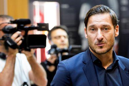 """Totti: """"Estoy contento por el enfrentamiento contra el Barcelona"""""""
