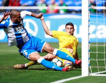 1-1. Dépor y Las Palmas empatan y le hacen un favor al Levante