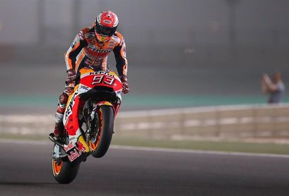 """Márquez afirma que """"el piloto más fuerte no está en la primera línea"""""""