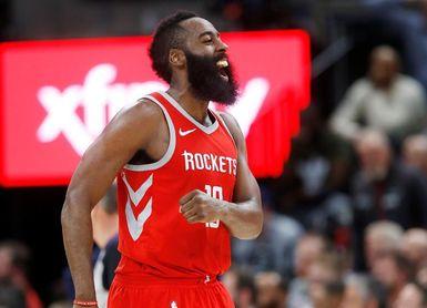 101-107. Harden logra doble-doble y los Rockets siguen ganando