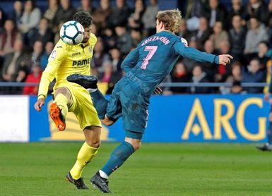 Griezmann será baja por cinco amarillas contra el Deportivo