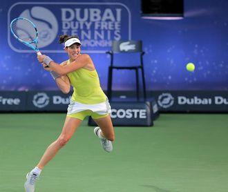 Muguruza empezará en el Abierto de Miami enfrentando a Anisimova o a Wang
