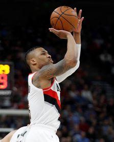Trail Blazers y Rockets vuelven a ganar; pierden Raptors y Celtics
