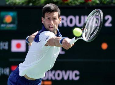Djokovic afirma que solamente lleva dos días jugando sin dolor