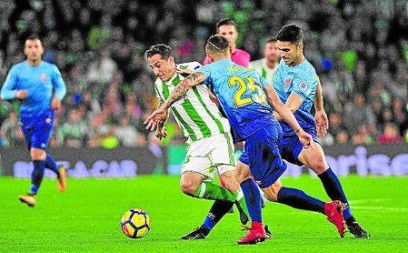 El Girona de Machín es séptimo en estos momentos, empatado a puntos con el Betis.