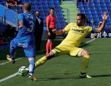 El Villarreal celebra los trescientos partidos de Mario Gaspar en el club
