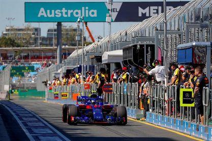 Los dos Toro Rosso, primeros multados en 2018 por superar la velocidad en garaje