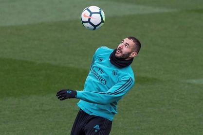 Último entrenamiento del Real Madrid de esta semana con cuatro jugadores