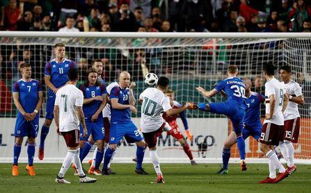 3-0. México vence a Islandia con un par de goles Layún y uno de Fabián
