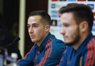 """Lucas Vázquez: """"Si está Messi, mejor"""""""