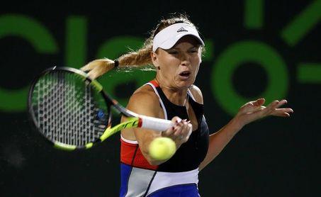 Mónica Puig da la sorpresa en Miami y elimina a Wozniacki, número 2 del mundo