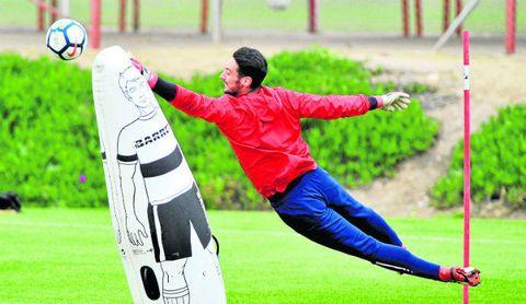 Sergio Rico, en la elite mundial de la portería