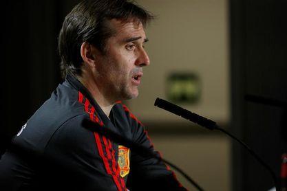 """Lopetegui: """"Argentina ha mejorado mucho con la llegada de Sampaoli"""""""
