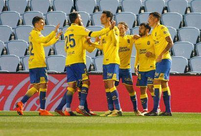 La UD Las Palmas prepara la visita del Real Madrid sin Etebo y Halilovic