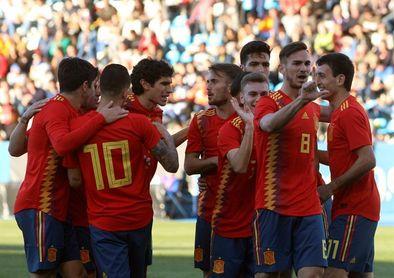 3-1. España golea a Estonia y sigue con su marcha inmaculada en el Europeo