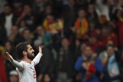 Más de 6,3 millones vieron la goleada de España a Argentina