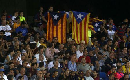 El TSJM confirma la prohibición de exhibir esteladas en la final de Copa del Rey